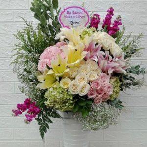Rangkaian Bunga Meja BM01